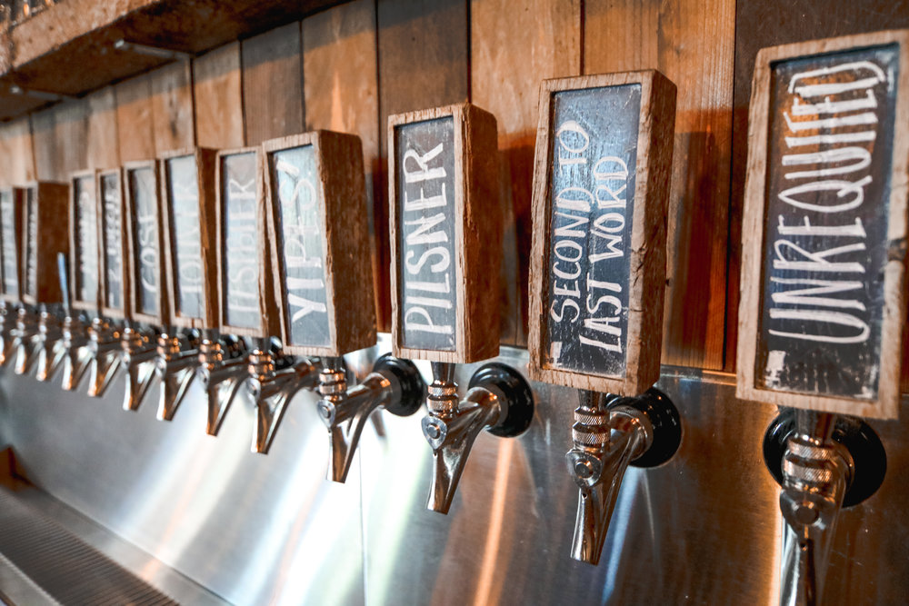 Taps at Batch Brewing