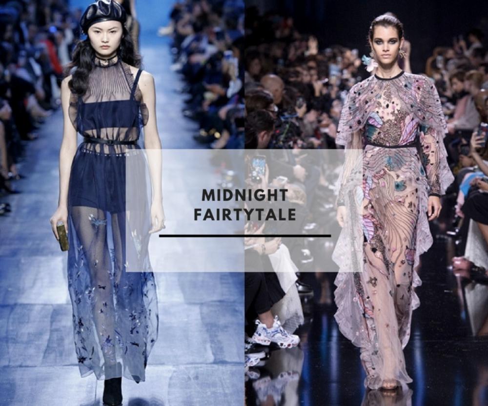 Dior & Elie Saab via Polyvore