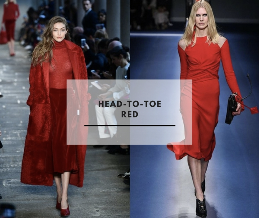 Max Mara & Versace via Polyvore