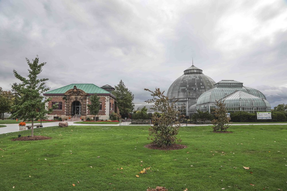 Belle Isle Aquarium and The Anna Scripps Whitcomb Conservatory