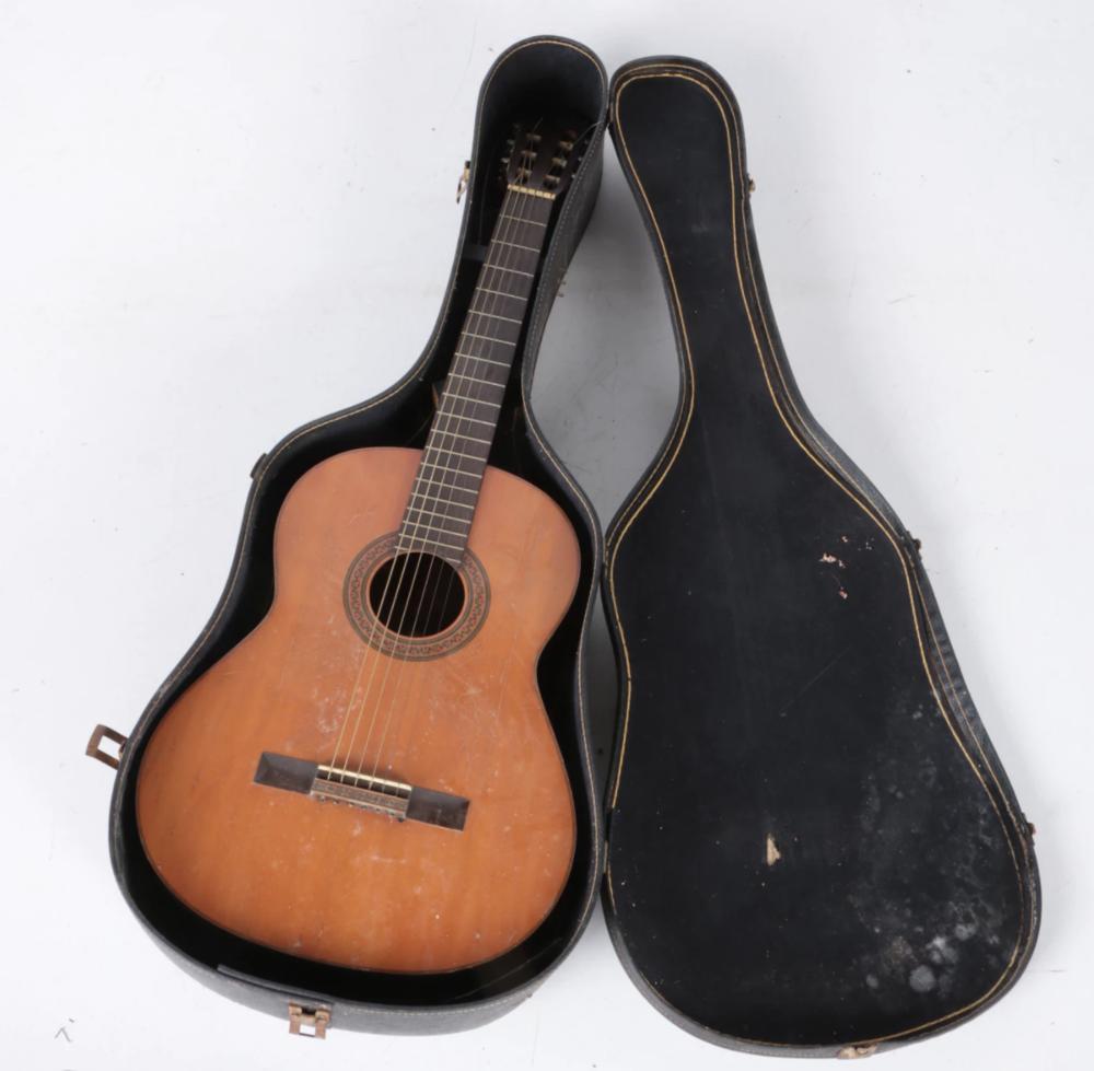 Vintage Yamaha G-85A Acoustic Guitar. Current Bid Price $42.