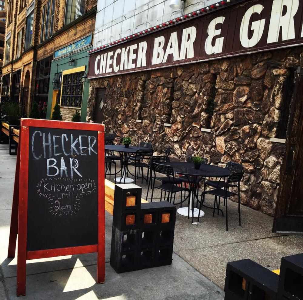 Checker Bar via Metro Times