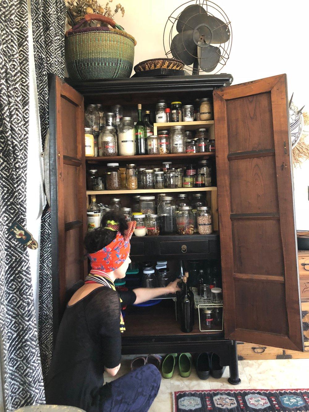 Corinne's pantry