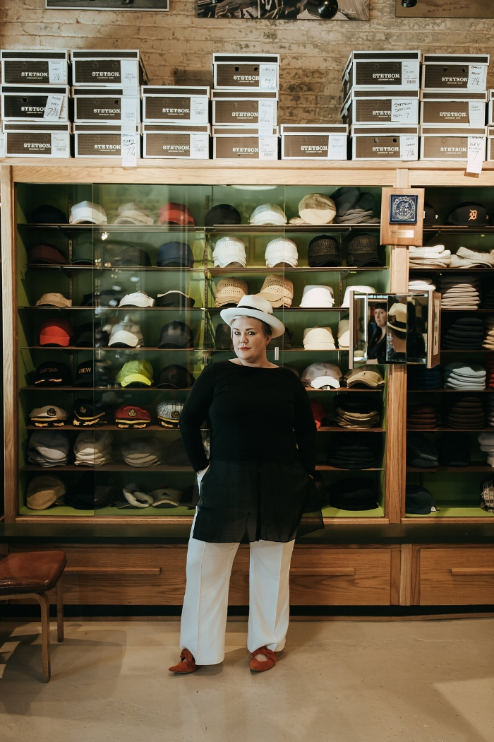Hat shopping at America's oldest hatter,  Henry the Hatter