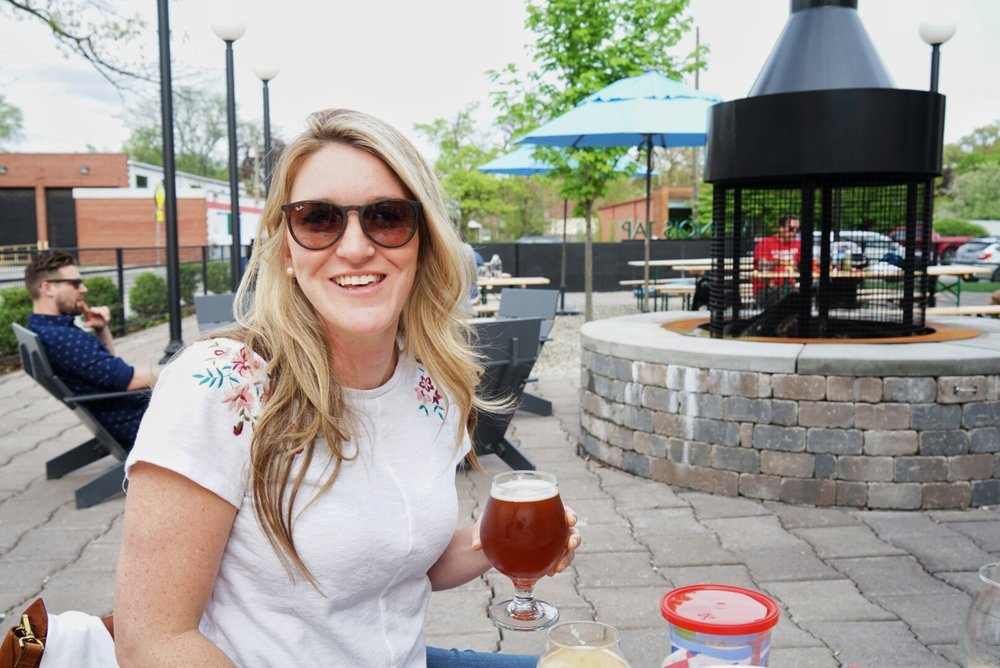 Jill at Axle Brewing
