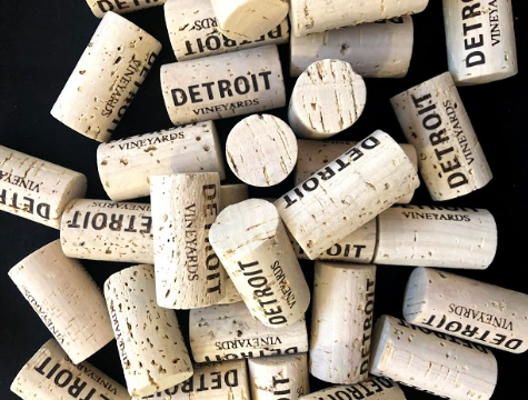 Corks from Detroit Vineyards