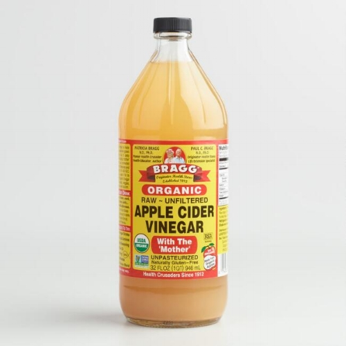 Limited use of ACV works some toothy wonders. Photo via  World Market
