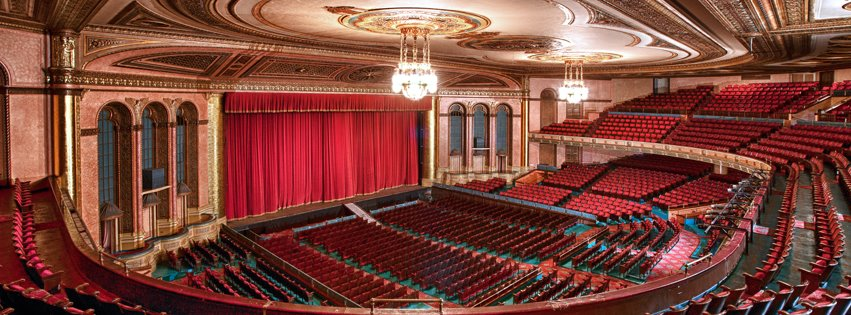 The Detroit Masonic Temple is one of the city's most versatile venues. Photo via  Facebook