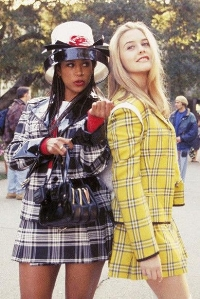 channel your inner Cher and Dion this fall with bold plaids. Photo credits www.intothegloss.com
