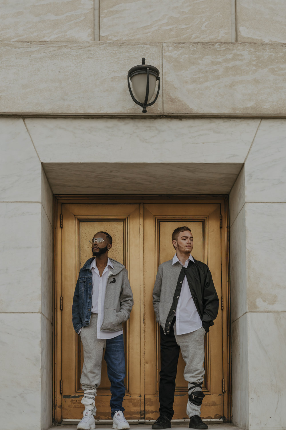 Remy and  Tyler  for Detroit brand  I Am Perspective,  photographed by Daniela Lisi