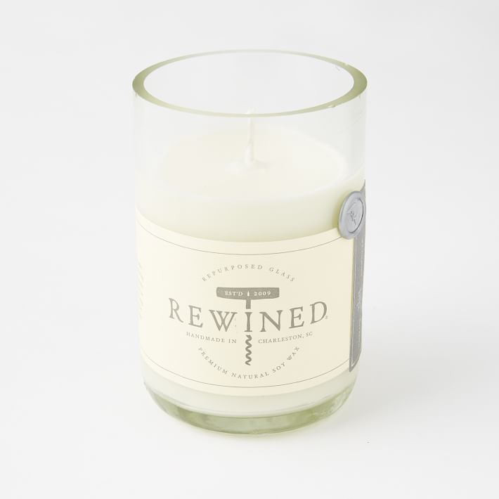 rewined rose scented candle weekly edit
