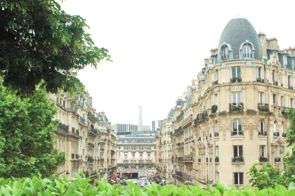 View from Promenade Plantee in Paris
