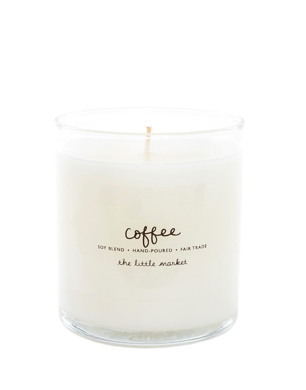 Fair Trade Coffee Candle | The Weekly Edit