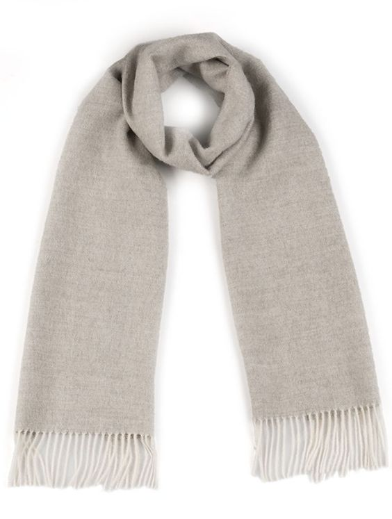 Erlum Alpaca Herringbone Scarf | The Weekly Edit