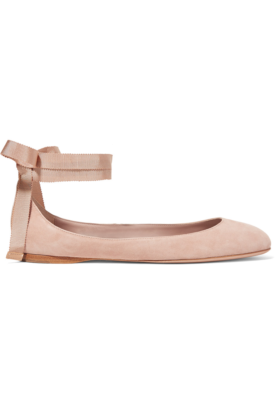Pink Suede Ballet Flats | The Weekly Edit