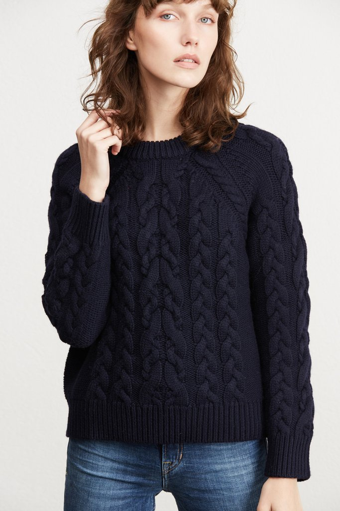 Chunky Knit Sweater, $228 | the weekly edit