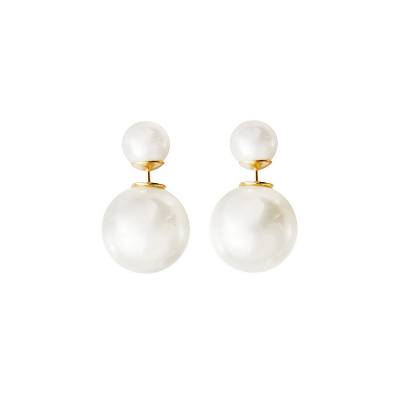 Double Pearl Earrings, $38 | the weekly edit
