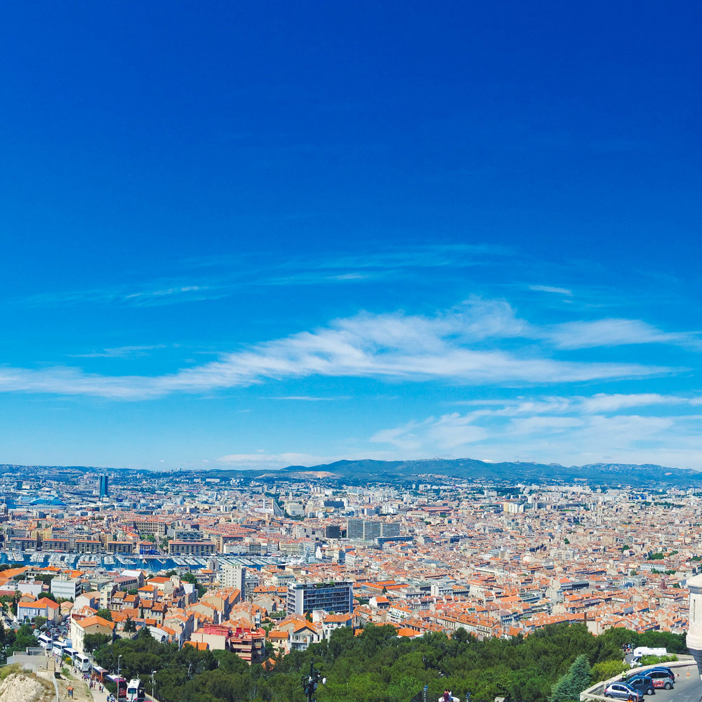 View over Marseille, France #mfrancisdesigntravels