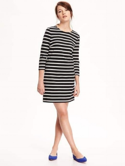 Striped Shift Dress on the Weekly Edit