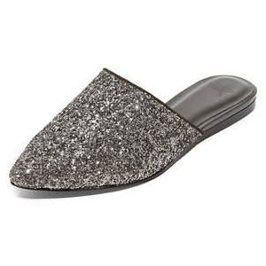 Joie Glitter Mules on The Weekly Edit