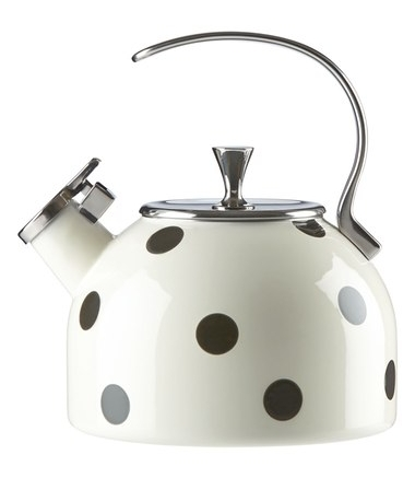 Polka Dot Tea Kettle on The Weekly Edit