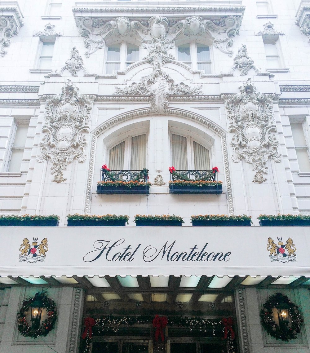 Hotel Monteleone in New Orleans | monicafrancis.com #mfrancisdesigntravels