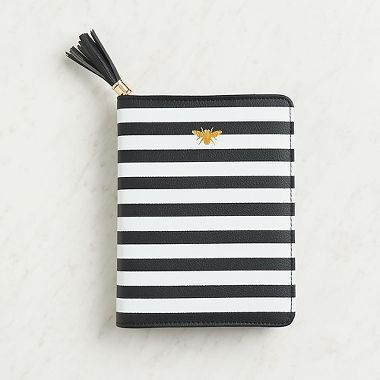 Leatherette Zipper Journal on The Weekly Edit