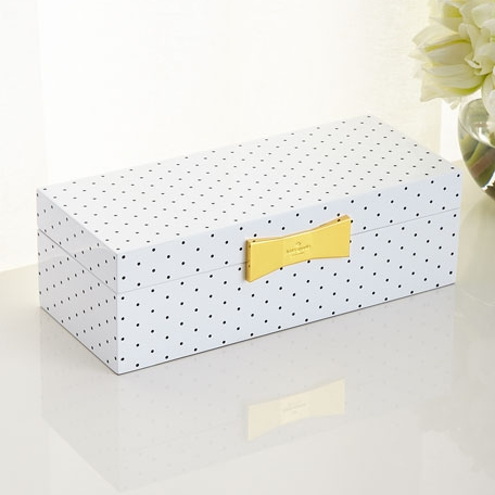 Polka Dot Jewelry Box on the Weekly Edit