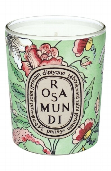 Diptyque Rosa Mundi Candle on the Weekly Edit