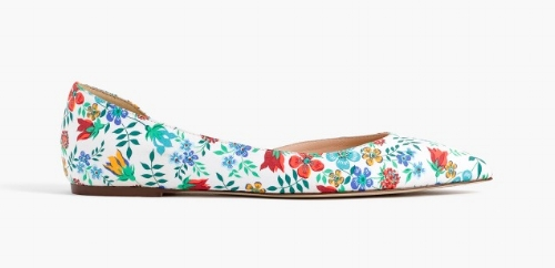 Floral D'Orsay Flats on the Weekly Edit