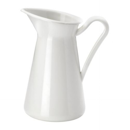 White Pitcher Vase on the Weekly Edit