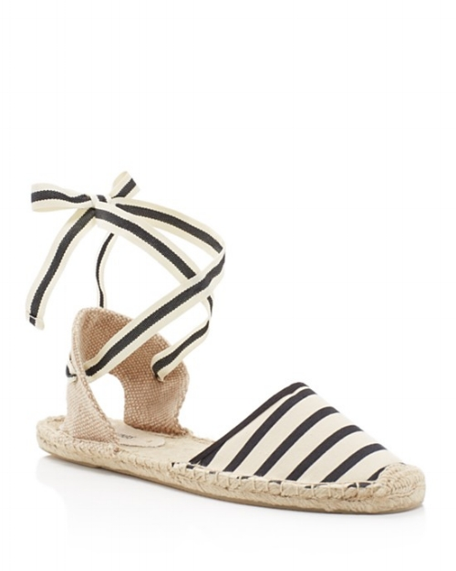 Soludos Striped Espadrilles on the Weekly Edit