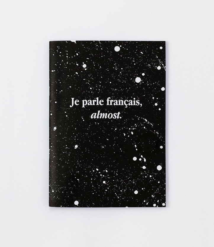Je Parle Francais, Almost Notebook on the Weekly Edit