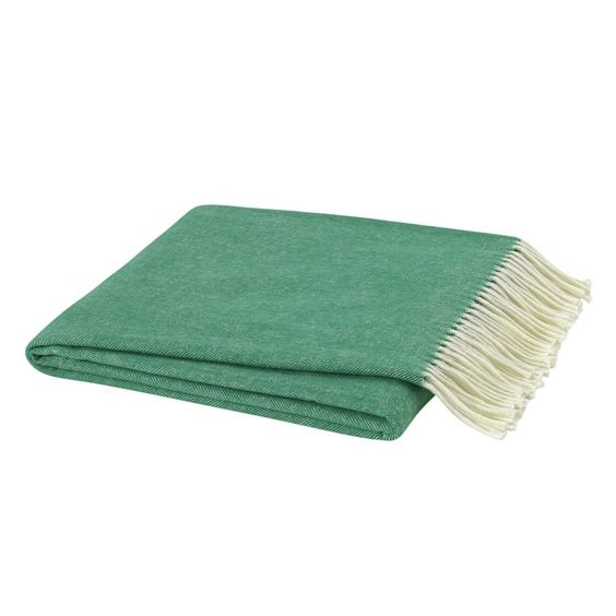 Italian Herringbone Throw Blanket on the Weekly Edit