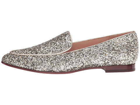Gold Glitter Loafers on the Weekly Edit