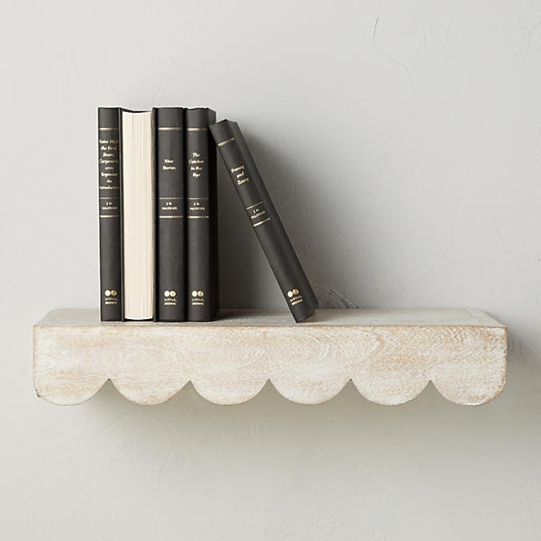 Scalloped Shelf on the Weekly Edit