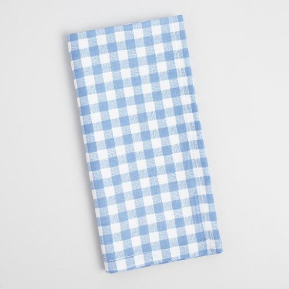 Gingham Napkins on the Weekly Edit