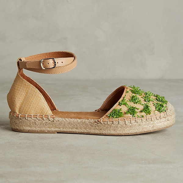 Raffia Espadrilles on the Weekly Edit
