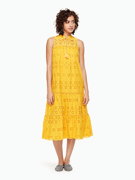 Kate Spade Eyelet Patio Dress on the Weekly Edit