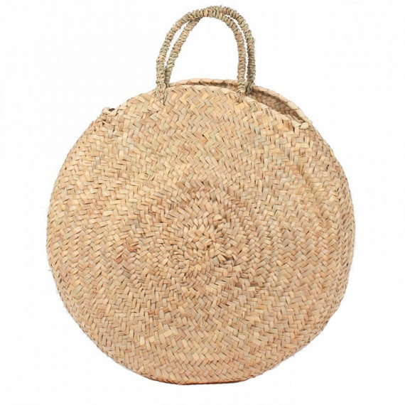Round Wicker French Basket on the Weekly Edit