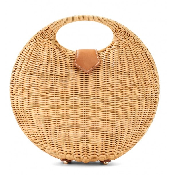 Circular Wicker Bag on the Weekly Edit