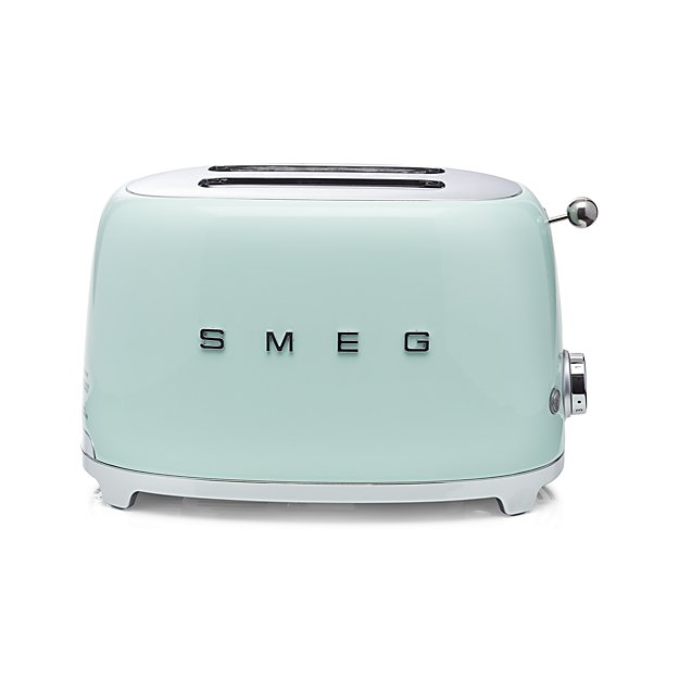 Smeg Pastel Green Retro Toaster on the Weekly Edit