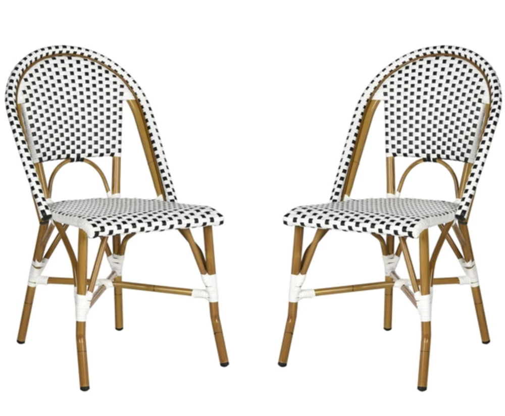 Set of Two Bistro Chairs on the Weekly Edit