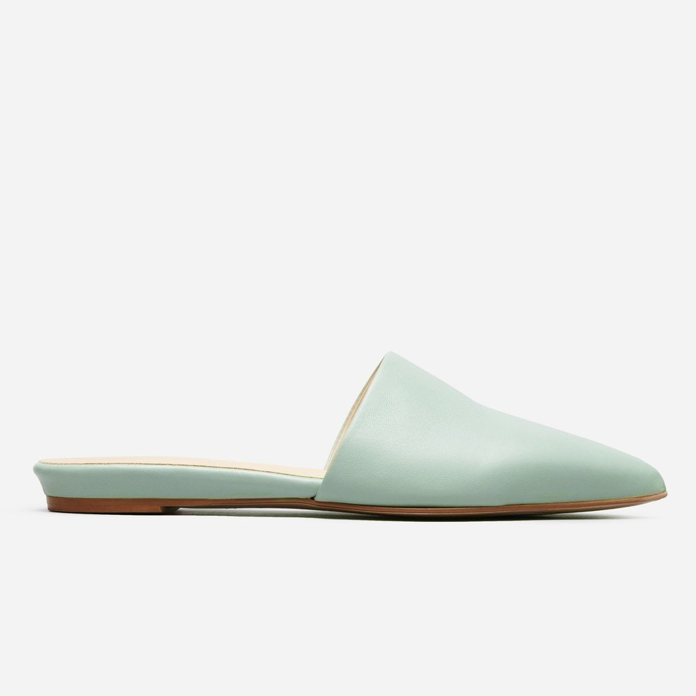 Everlane Pointed Slides on the Weekly Edit