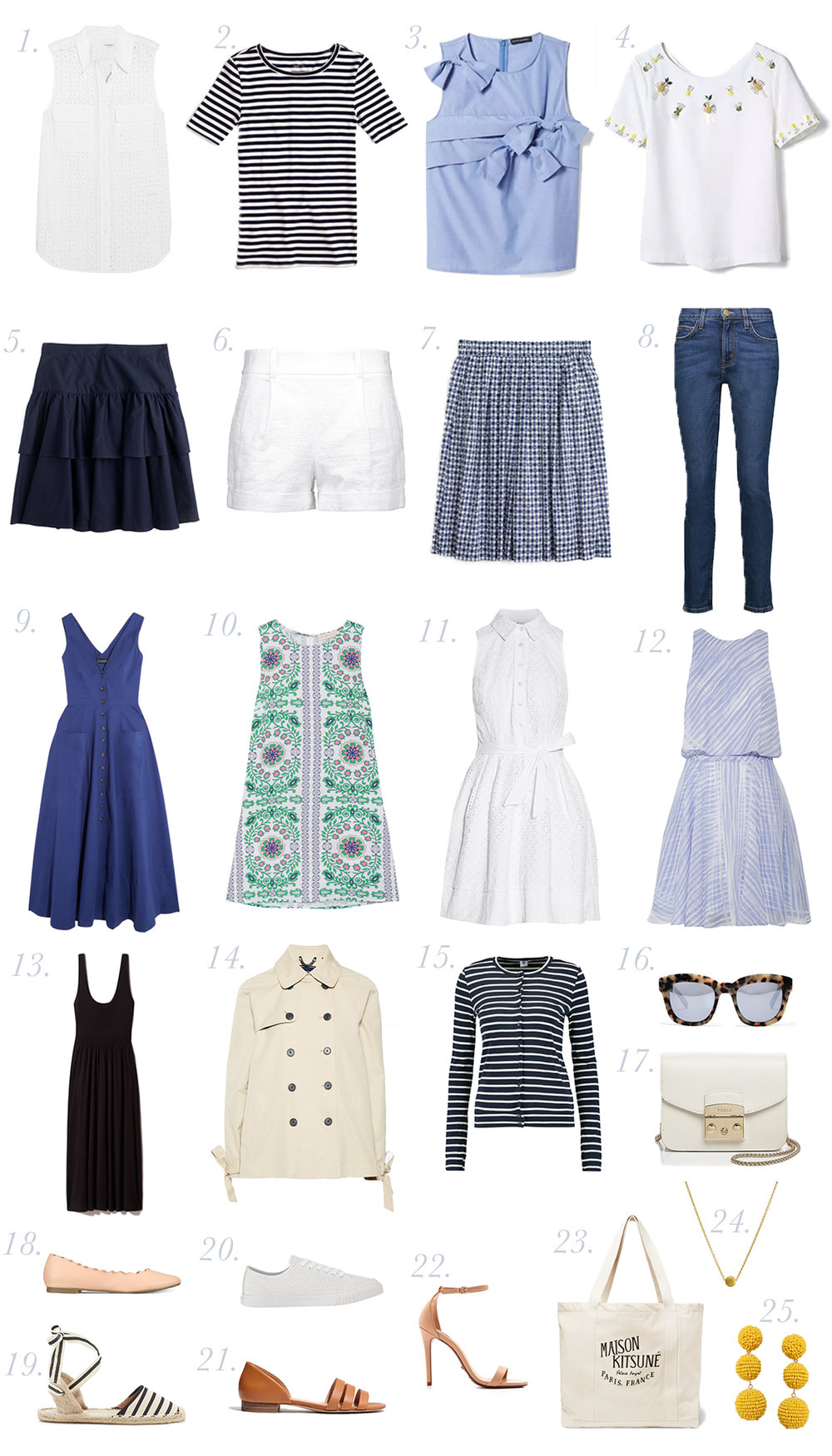 784e8b49d05 How to Pack for Europe  Spring  amp  Summer Capsule Wardrobe