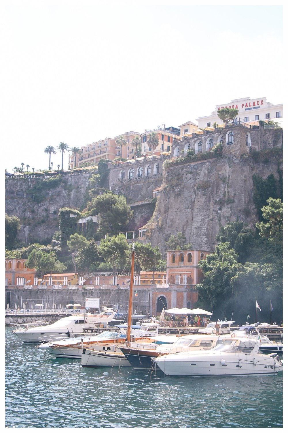 Amalfi Coast Travel Guide by Monica Francis Design