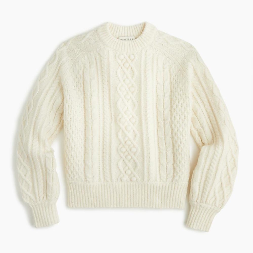 J. Crew Balloon Sleeve Sweater