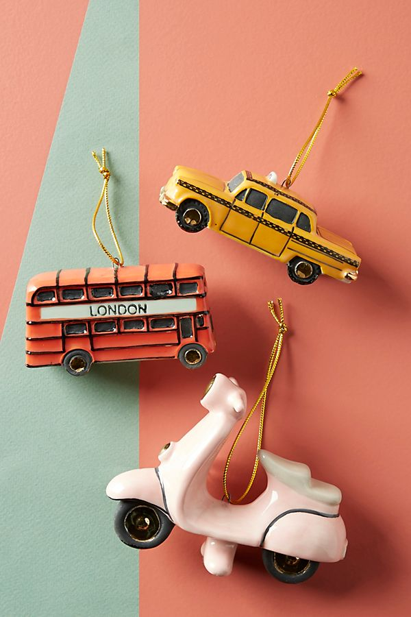 Anthropologie City Transit Ornament