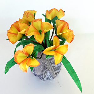 Small Origamipaper Flower Arrangements Nlm Origami Passion