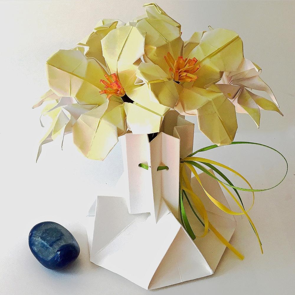 Origamipaper Flower Arrangements Nlm Origami Passion